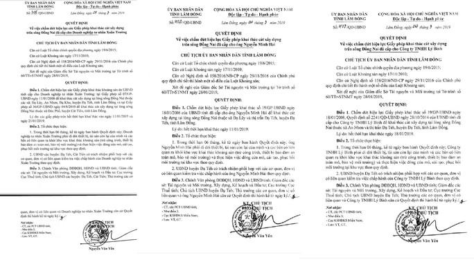 Chấm dứt khai thác cát trên sông Đồng Nai của 3 doanh nghiệp - Ảnh 5.
