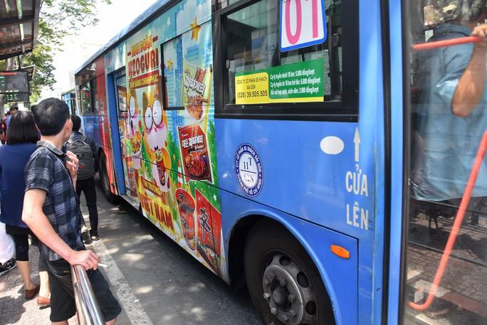 TP HCM: Bế tắc đấu giá quảng cáo xe buýt - Ảnh 1.