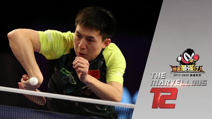 Clip: Pha phòng ngự khó tin của tay vợt Trung Quốc - Ảnh 1.