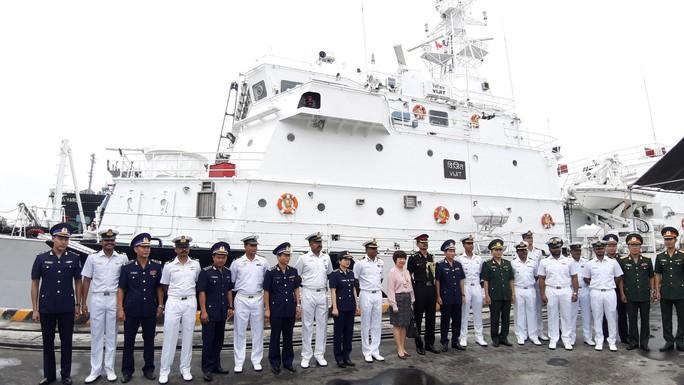 Tàu Lực lượng Bảo vệ bờ biển Ấn Độ thăm chính thức Đà Nẵng - Ảnh 2.