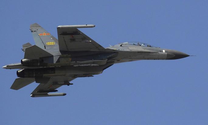 """Đài Loan tố chiến đấu cơ Trung Quốc """"liều lĩnh và khiêu khích"""" - Ảnh 1."""