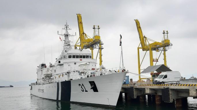 Tàu Lực lượng Bảo vệ bờ biển Ấn Độ thăm chính thức Đà Nẵng - Ảnh 4.