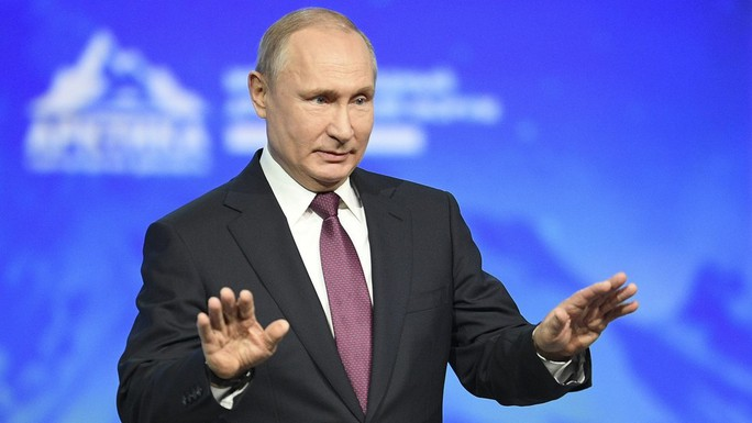 Tổng thống Putin mỉa mai cuộc điều tra Nga can thiệp bầu cử Mỹ - Ảnh 1.