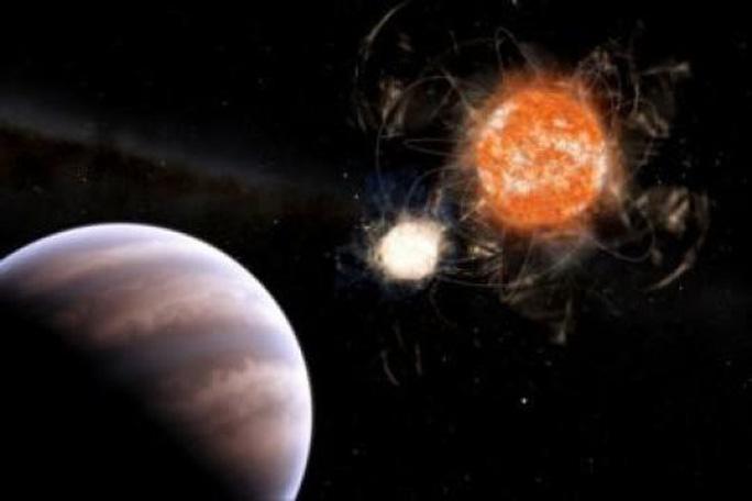 Siêu hành tinh quay quanh ngôi sao ma - Ảnh 1.