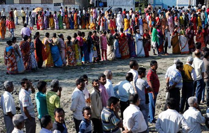 Ấn Độ bước vào cuộc bầu cử kéo dài 39 ngày - Ảnh 1.