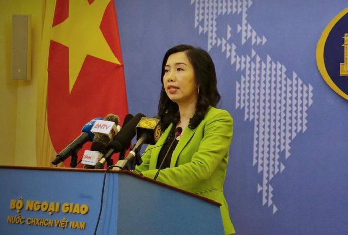 Người phát ngôn nói về thông tin Việt Nam bắt 3 công dân Triều Tiên bỏ trốn - Ảnh 1.