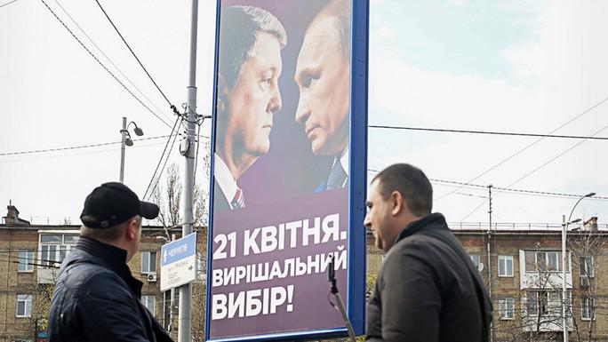 """Ukraine """"xài chùa"""" hình ảnh Tổng thống Putin, Nga đáp trả hài hước  - Ảnh 1."""
