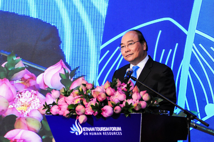 Thủ tướng Nguyễn Xuân Phúc trăn trở về nguồn nhân lực du lịch - Ảnh 1.