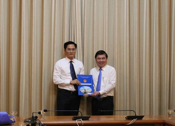TP HCM bổ nhiệm Giám đốc Sở GTVT và Sở Kế hoạch - đầu tư - Ảnh 1.