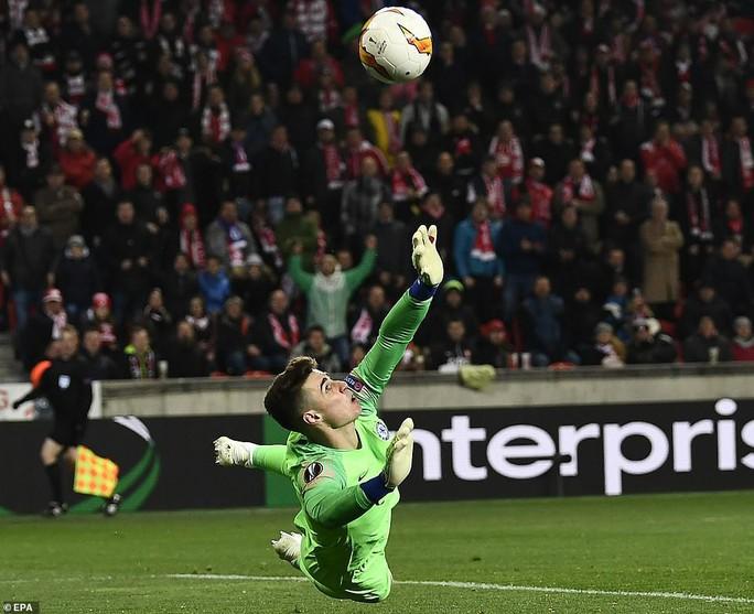 Tiền vệ ngựa chứng ghi bàn, Arsenal hạ gục Napoli tại Europa League - Ảnh 8.