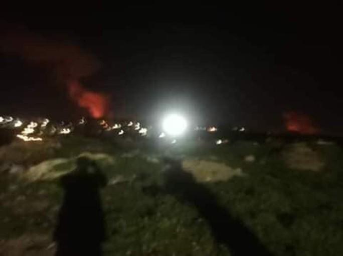 Chiến đấu cơ Israel oanh tạc Syria, tên lửa bị bắn hạ - Ảnh 1.