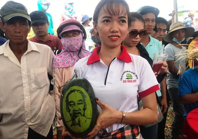 Đặc sắc Lễ hội dưa hấu lần đầu tiên ở Việt Nam - Ảnh 12.