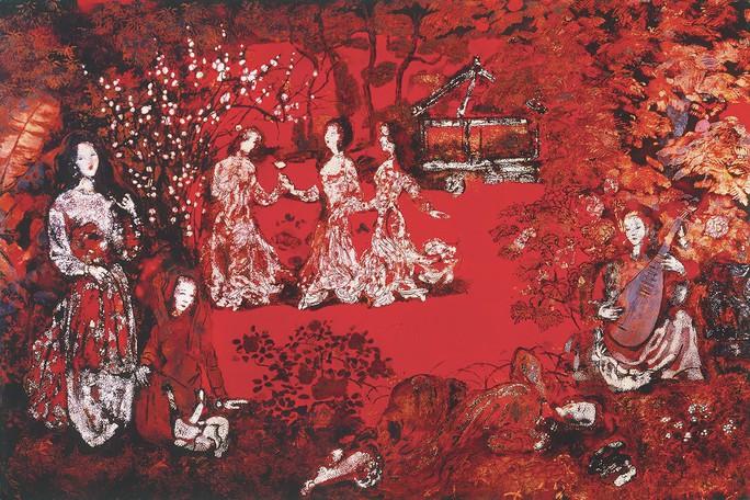 Ngắm kho tàng mỹ thuật trăm tỉ của Trần Hậu Tuấn - Ảnh 1.