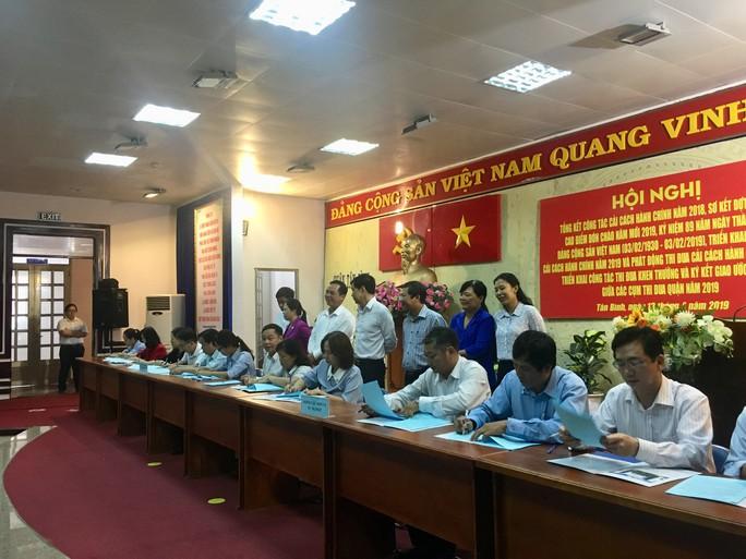 Gần 100% người dân Tân Bình hài lòng về cải cách hành chính - Ảnh 1.