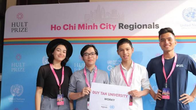 ĐH Duy Tân - Đại diện Việt Nam trong Top 7 HULT Prize khu vực Đông Nam Á 2019 - Ảnh 1.