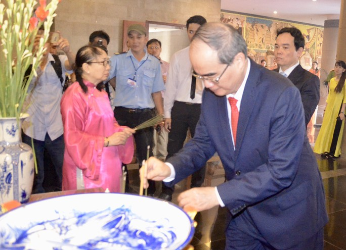 TP HCM long trọng tổ chức Giỗ tổ Hùng Vương - Ảnh 4.