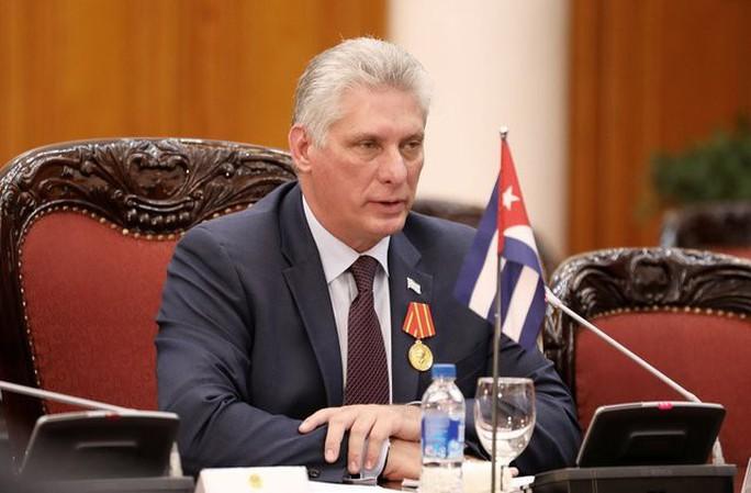 Chủ tịch Cuba kêu gọi củng cố kinh tế và quốc phòng đối phó Mỹ - Ảnh 1.