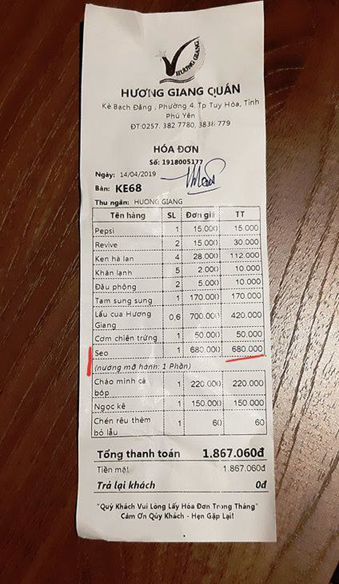 Thanh tra nói gì về việc khách tố chém đẹp với đĩa sò điệp 680 ngàn đồng? - Ảnh 5.