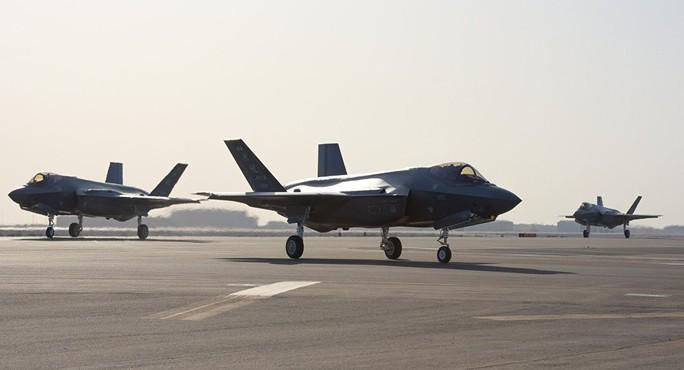 """Mỹ lần đầu đưa """"Tia chớp"""" F-35A tới chảo lửa Trung Đông - Ảnh 1."""