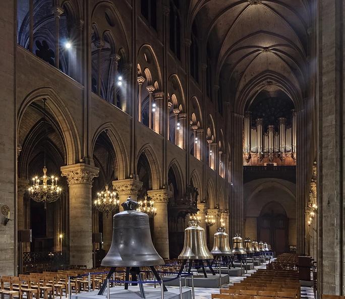 Những gì còn sót lại sau vụ cháy Nhà thờ Đức Bà Paris? - Ảnh 3.