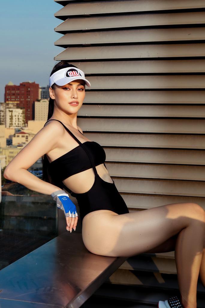 Bỏng mắt với Hoa hậu Trái đất Phương Khánh - Ảnh 2.