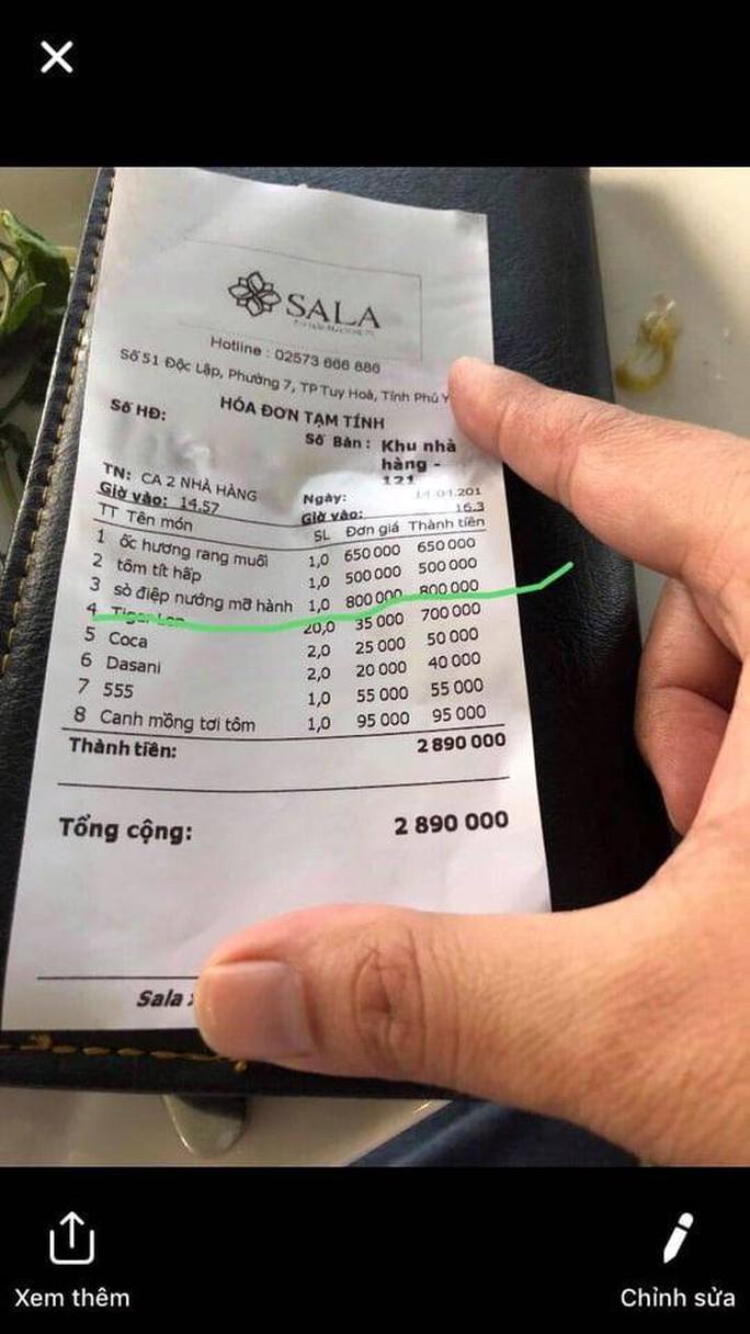 Thanh tra nói gì về việc khách tố chém đẹp với đĩa sò điệp 680 ngàn đồng? - Ảnh 3.