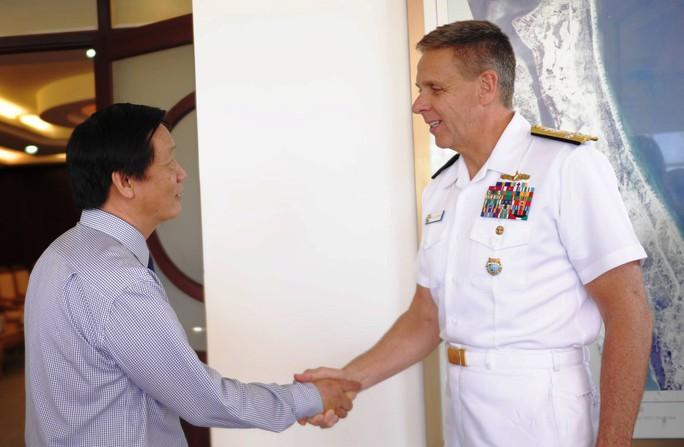 Tàu sân bay của Mỹ muốn đến thăm Khánh Hòa - Ảnh 1.