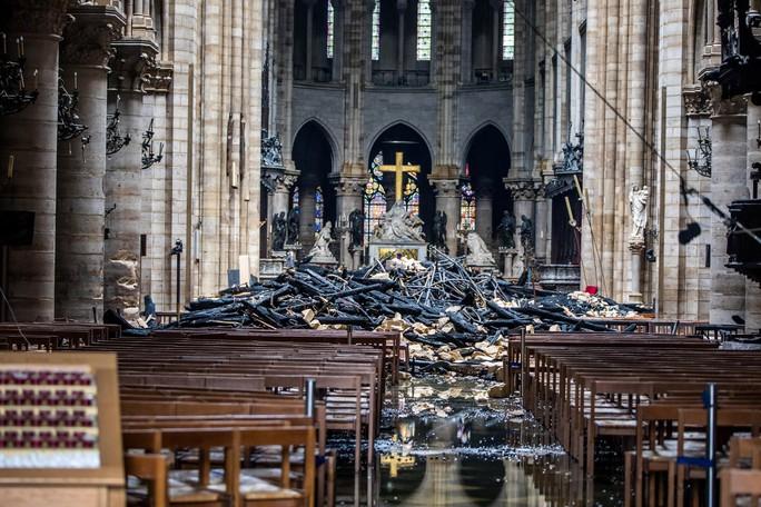 Cháy Nhà thờ Đức Bà Paris: Nạn nhân của phá hoại? - Ảnh 1.