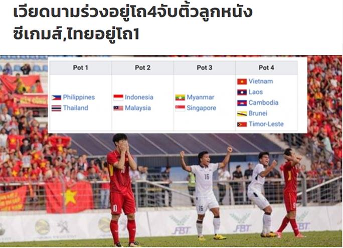 Báo Thái sợ khi U22 Việt Nam rơi vào nhánh lót đường ở SEA Games 2019 - Ảnh 2.