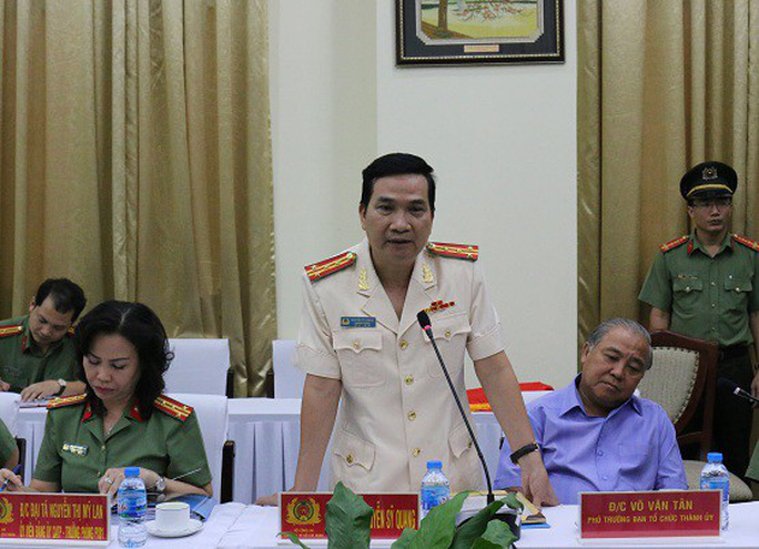 Đại tá Nguyễn Sỹ Quang làm Phó Giám đốc Công an TP HCM - Ảnh 2.