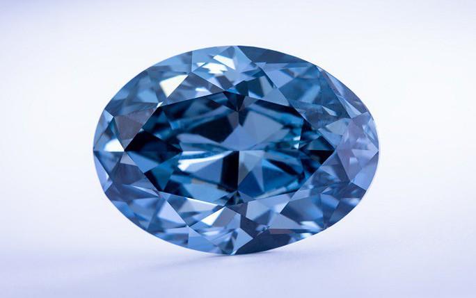 Ra mắt viên kim cương xanh hiếm có - Ảnh 1.