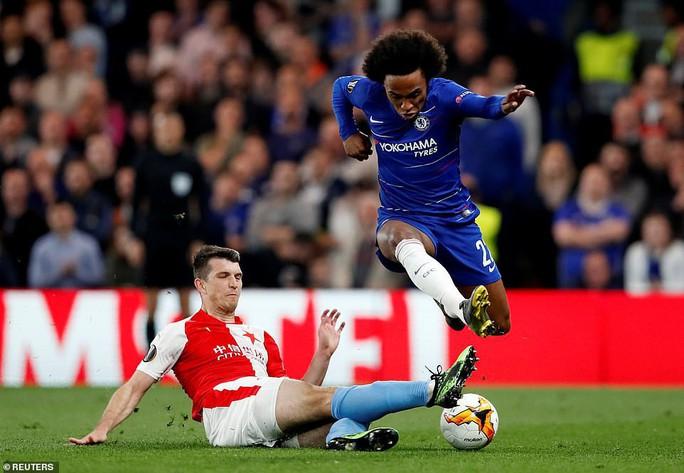 Rượt đuổi 7 bàn, Chelsea suýt trả giá đắt tại Europa League - Ảnh 2.