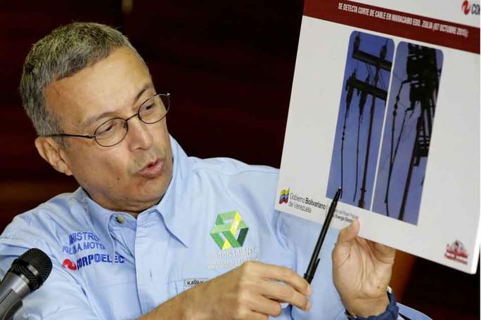Venezuela: Bộ trưởng điện lực mất chức vì mất điện - Ảnh 2.