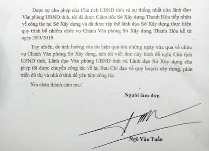 """Ông Ngô Văn Tuấn đã quay về """"ghế cũ"""" ở Văn phòng UBND tỉnh Thanh Hóa - Ảnh 2."""