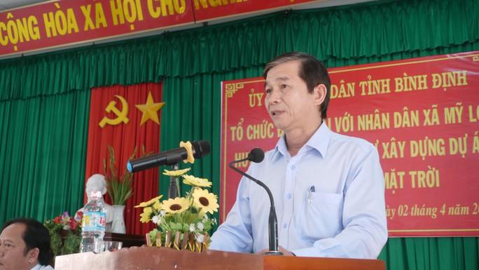 Bình Định: Người dân tiếp tục phản đối dự án điện trên đầm Trà Ổ - Ảnh 2.