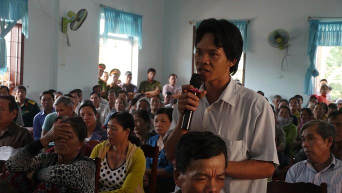 Bình Định: Người dân tiếp tục phản đối dự án điện trên đầm Trà Ổ - Ảnh 1.