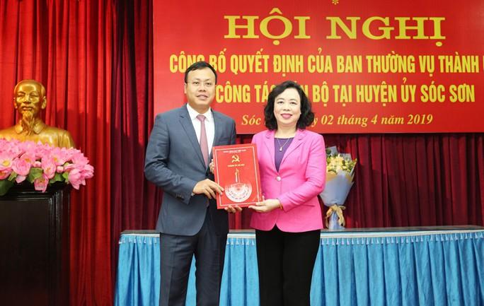 Con trai nguyên bí thư Hà Nội Phạm Quang Nghị làm phó bí thư huyện Sóc Sơn - Ảnh 1.