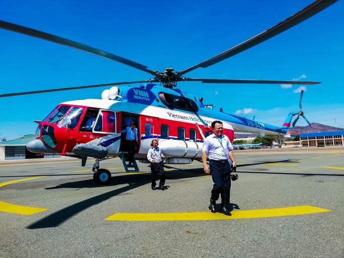 Khai thác tuyến Vũng Tàu – Côn Đảo bằng máy bay trực thăng - Ảnh 1.