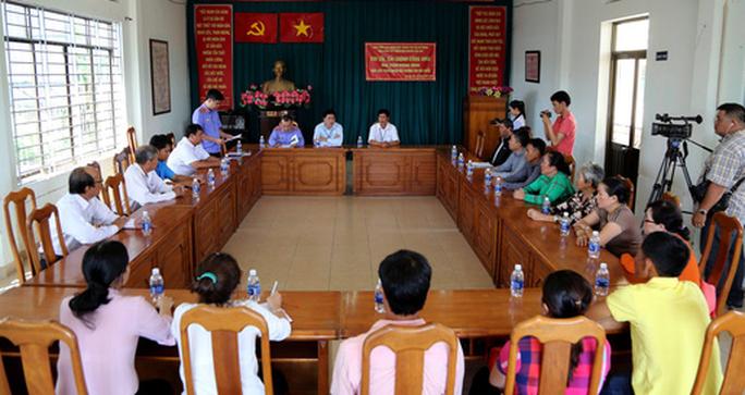 Viện trưởng VKSND huyện Cần Giờ thừa nhận sai sót và cam kết thương lượng bồi thường - Ảnh 1.