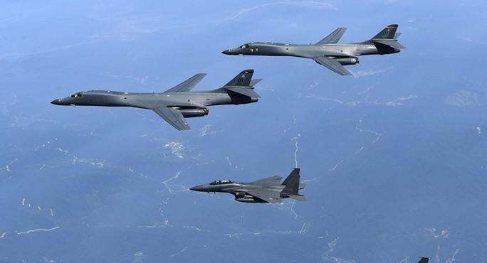 Triều Tiên dọa phản ứng quân sự đối với Mỹ và Hàn Quốc - Ảnh 1.