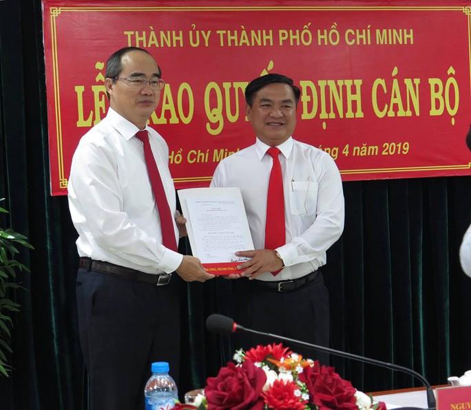 Ông Trần Trọng Tuấn giữ chức Bí thư Quận ủy quận 3 - Ảnh 2.