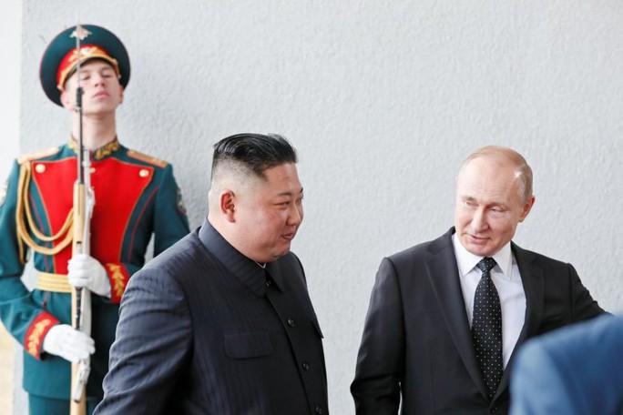 Ông Kim và ông Putin đã hội đàm những gì? - Ảnh 1.