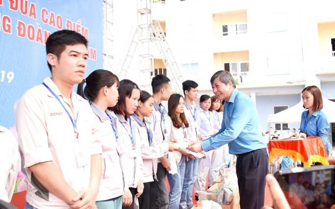LĐLĐ TP Hà Nội: Nhiều hoạt động chăm lo cho công nhân khó khăn - Ảnh 5.