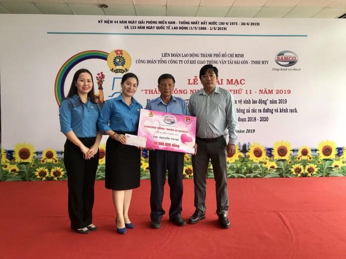 Công đoàn SAMCO tưng bừng khai mạc Tháng Công nhân - Ảnh 4.