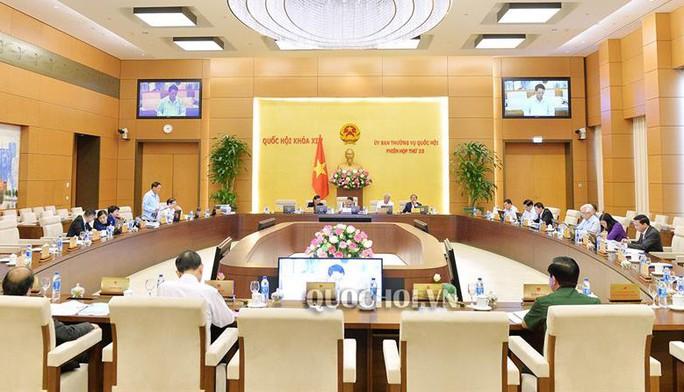 Công bố các Nghị quyết của Ủy ban Thường vụ QH về công tác cán bộ - Ảnh 1.