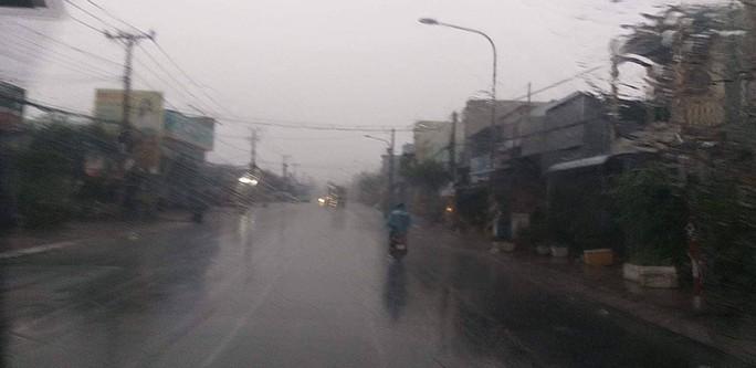 Xứ tôm Cà Mau, Bạc Liêu phấn khởi đón cơn mưa quý hơn vàng - Ảnh 1.