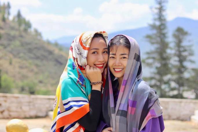 Diễn viên Mai Phương được Ốc Thanh Vân đưa đi Bhutan du lịch - Ảnh 2.