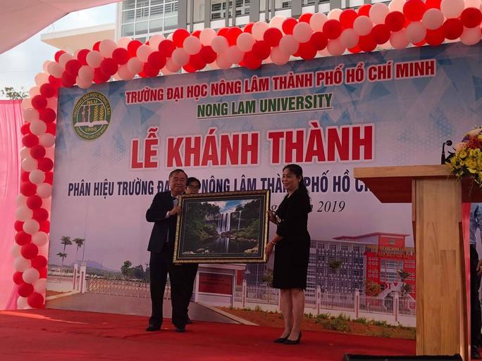 Khánh thành phân hiệu ĐH Nông lâm TP HCM tại Gia Lai - Ảnh 1.