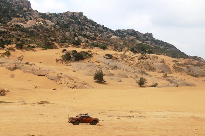 Quá hấp dẫn giải đua xe địa hình sa mạc ở Ninh Thuận - Ảnh 11.