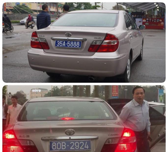 Xôn xao thông tin chủ tịch HĐND tỉnh Ninh Bình đi xe biển xanh 80B - Ảnh 1.